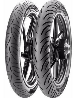 Pneu Pirelli 2.75-17 + 80/100-14 Super City Biz100/125 Pop