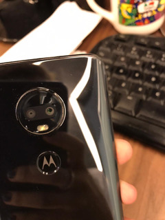 Celular Moto G7 Preto Espelhado