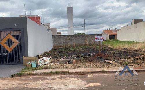 Terreno À Venda, 250 M² Por R$ 95.000,00 - Jardim Padovani - Londrina/pr - Te0556