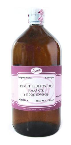Dimetilsulfoxido Puríssimo - Dmso - Frasco 1 Litro