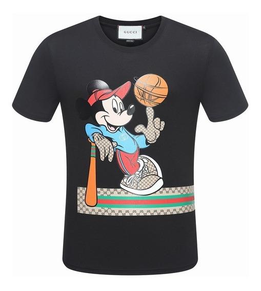 Camiseta Gucci Miky Basketball Pronta Entrega