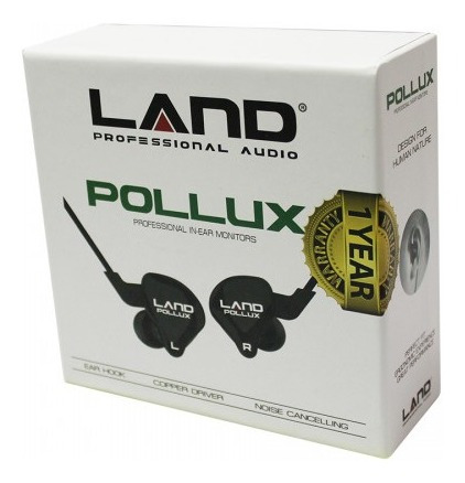Fone Land Audio Pollux Professional Double Driver Earphone