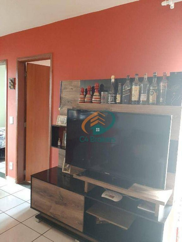Apartamento Com 2 Dormitórios À Venda, 48 M² Por R$ 200.000,00 - Bonsucesso - Guarulhos/sp - Ap4127