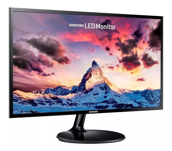 Monitor Samsung F350 27 Pulgdas Fhd Led Plano 1080p 60hz