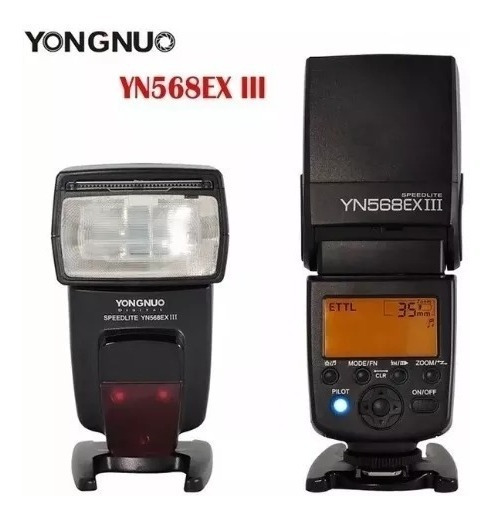 Yongnuo Yn568ex Iii Speedlite Para Canon Pronta Entrega