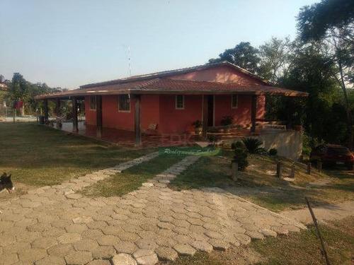 Imagem 1 de 15 de Chácara Com 2 Dormitórios À Venda, 2800 M² Por R$ 500.000,00 - Veraneio Irajá - Jacareí/sp - Ch0503