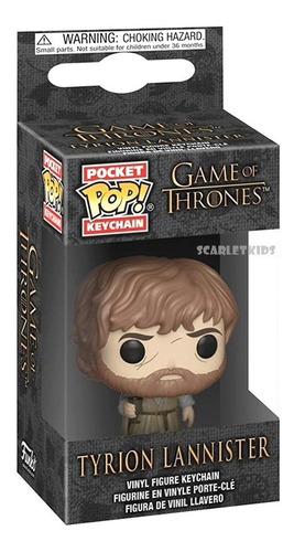 Llavero Funko Juego De Tronos Tyrion Lannister Keychain Pop!