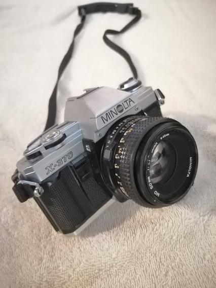 Camara Fotográfica Minolta X-370 Con Lentes, Filtros