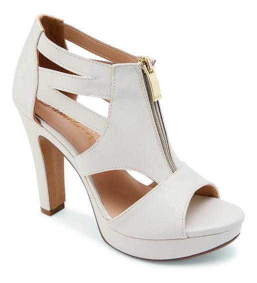 Sandalia Para Dama Marca Damita 44096 Color Blanco