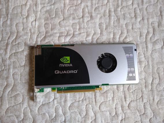 Placa De Vídeo Nvidia Quadro Fx3700