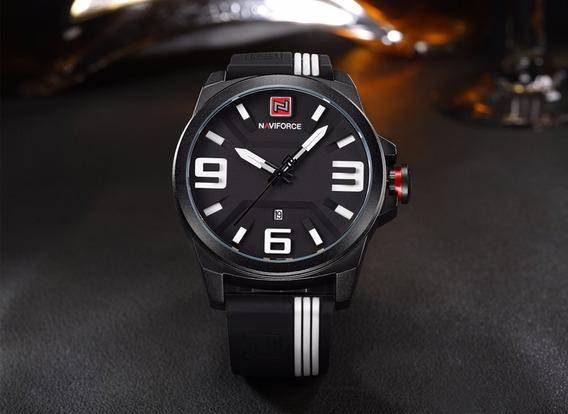 Relógio Masculino Preto Original 3d Frete Grátis Presente!