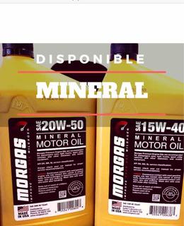 Aceite Mineral 20w-50 Y 15w-40 1 La Morgas Importado De Usa