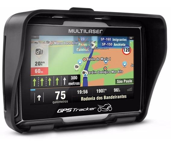 Navegador Gps Moto Tracker Multilaser 4.3 Polegadas