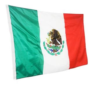 Bandera Mexico Republica Mexicana Patria Fiestas Futbol Asta