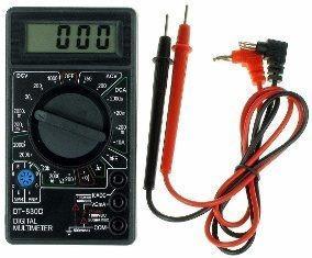 Multimetro Tester Modelo Dt-830d