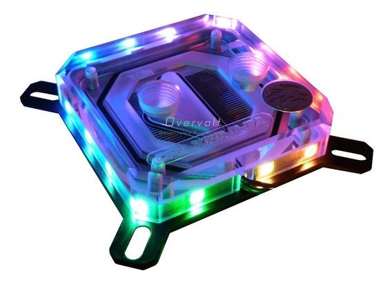 Bloco Processador Intel Universal Rgb Endereçável Bykski