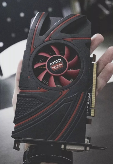 Placa De Vídeo Amd Radeon R9 270 2gb C/ Defeito Da Vídeo