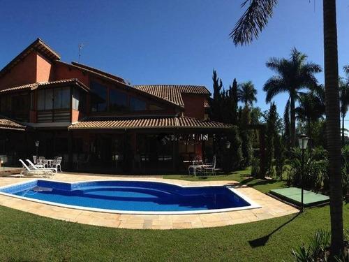 Sobrado Com 6 Dormitórios À Venda, 480 M² Por R$ 3.700.000,00 - Condomínio Vivendas Do Lago - Sorocaba/sp - So0393