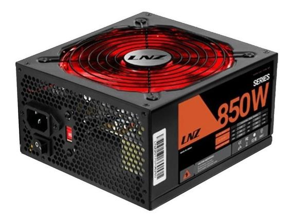 Fuente PC ATX LNZ SX850-FS SX Series 115V/230V negra