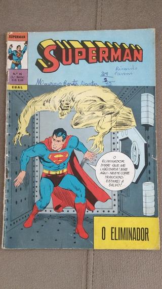 Superman - Hqs Antigos Editora Ebal