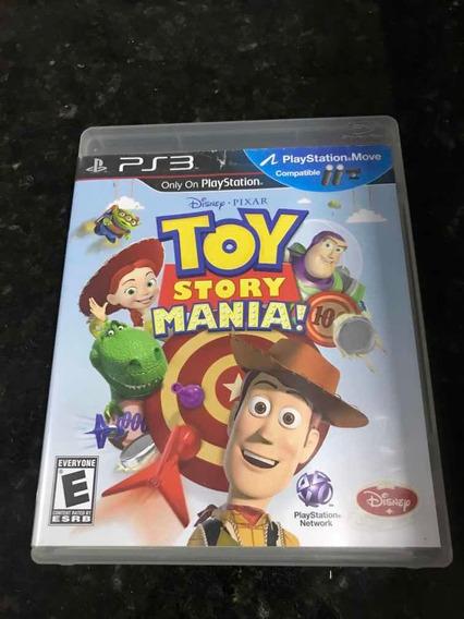 Jogo Ps3 Toy Story Mania Original Mídia Física