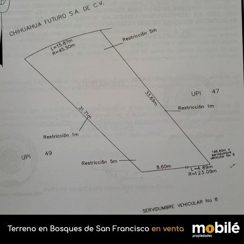 Terreno En Venta En Bosques De San Francisco