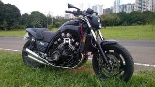 Yamaha Vmax 1200 145hp Americana Preta Costumizada