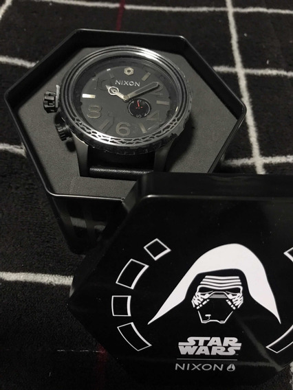 Relógio Nixon 51-30 Leather Star Wars Edição Limitada