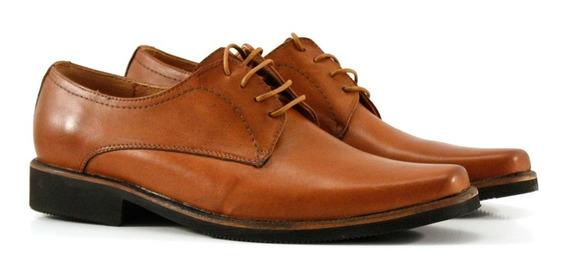 Zapatos De Hombre De Vestir En Cuero Suela
