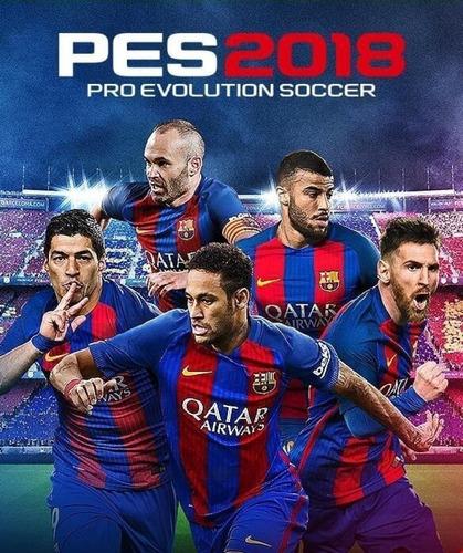 Pro Evolution Soccer 2018 Pes 18 Juego Pc Original + Español