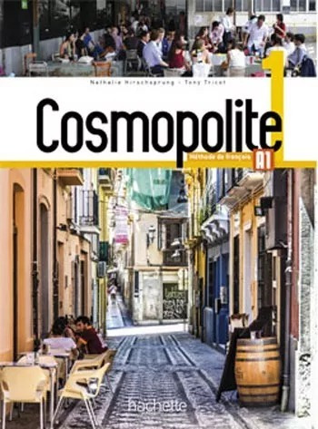 Cosmopolite 1 - Livre + Dvd E Cahier + Cd (frete Gratis)