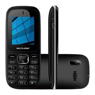 Celular Up Dual 3g Bluetooth 3.0 Preto P9017 - Multilaser