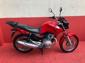 Honda Cg 150 Fan Esdi 2014 Vermelha