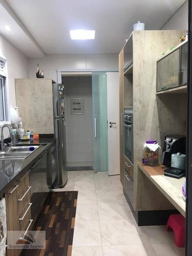 Apartamento Residencial À Venda, Vila Nova Socorro, Mogi Das Cruzes - . - Ap0096