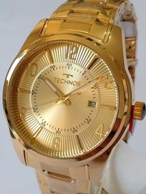 Relógio Feminino Dourado Technos 2115te/4x Classic - Steel