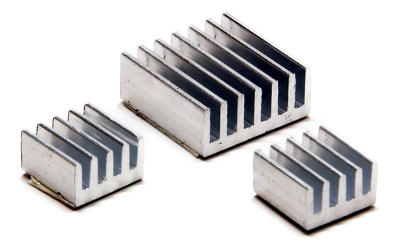 Raspberry Kit 3 Disipadores Heatsink Ideal Overclock