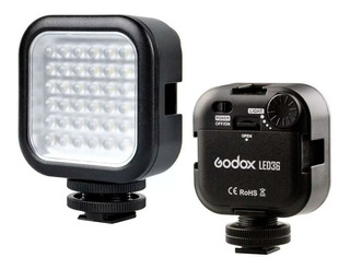 Luz continua tipo panel Godox LED36 blanca fría