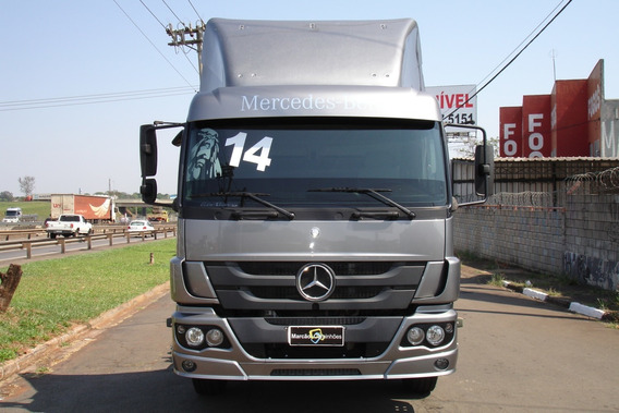 Mb Mercedes-benz Atego 2430 6x2 Ano 2014 Automatico