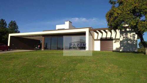 Chácara Com Casa Moderna 3 Suítes À Venda, 5000 M² - Pinheirinho - Vinhedo/sp - Ch0026