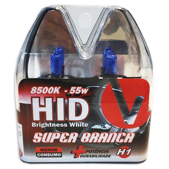 Lampada H1 Super Branca Par Tipo Xenon