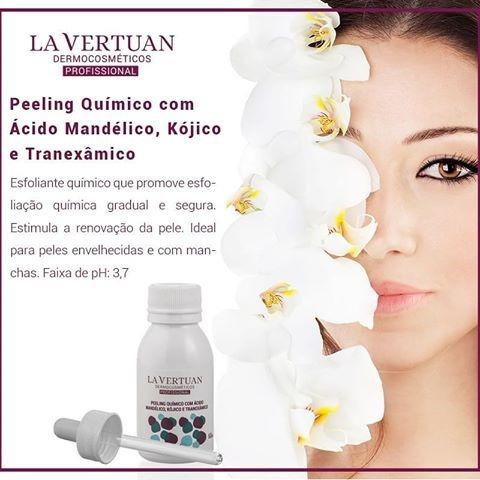 Peeling Quimico La Vertuan Clareador Manchas Facial Oferta!