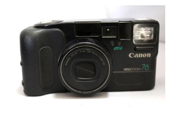 Câmera Fotografica Canon Megazoom 76 Coleção Retirada Peças