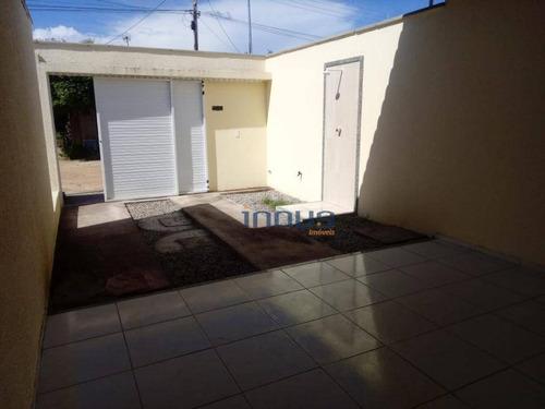 Casa Com 2 Dormitórios À Venda, 62 M² Por R$ 149.000,00 - Cágado - Maracanaú/ce - Ca0654