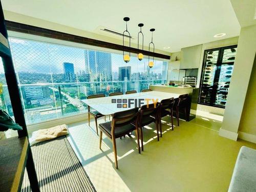 Apartamento À Venda, 132 M² Por R$ 2.200.000,00 - Brooklin - São Paulo/sp - Ap42122