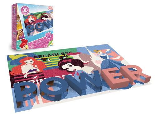 Rompecabezas X 250 Pzas Poster 3d Princesas Ronda
