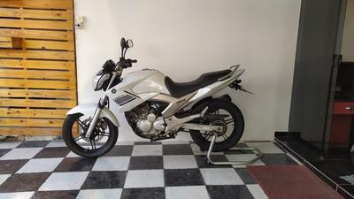 Yamaha Ys 250 Fazer 2014 Branca Tebi Motos
