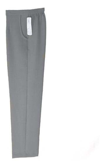 Pantalón De Vestir Con Bolsa Y Resorte Para Dama Jk