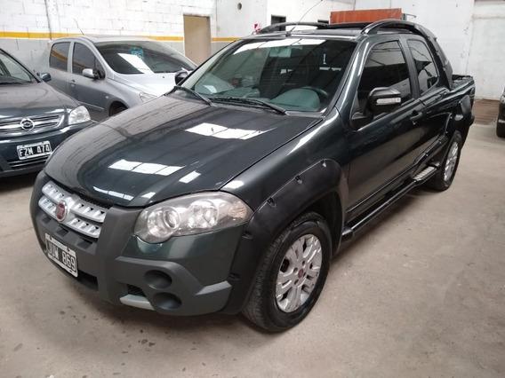 Fiat Strada C/d 2011 Adventure Gnc. Oportunidad Tasa 9.5%