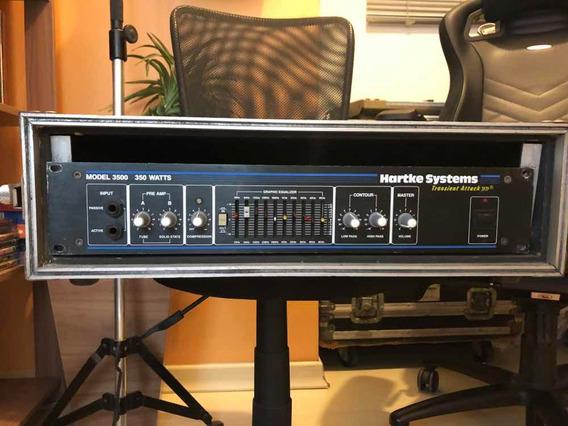 Amplificador De Baixo Cabeçote Hartke Ha3500 + Hard Case