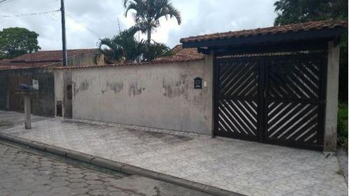 Boa Casa Lado Praia Com Ótimo Terreno - Itanhaém 3581   Npc